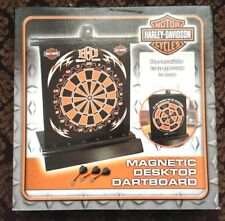 Harley Davidson Magnetic Desktop dartboard ~NEW~