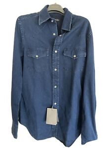 Tom Ford - Mens Western Jean Shirt - Brand New With Tags - RPP £450