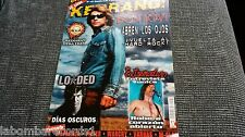 REVISTA MAGAZINE KERRANG 107 BON JOVI METALLICA WARCRY EXTREMODURO FILTER LOADED