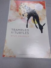 Vintage Promo Poster Trampled by Turtles