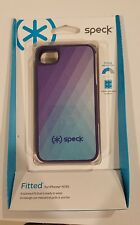 Speck Products Fitted Hard Case with Fabric for iPhone 4/4S - Purple/Teal