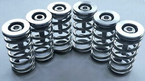 Ducati Dry Clutch Plates Stainless Steel Spring Aluminum Collar Cap Set Silver