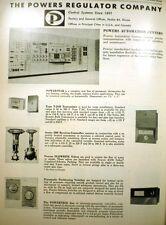 Powers Regulator ASBESTOS Packing Valves Steam 1967 Ad