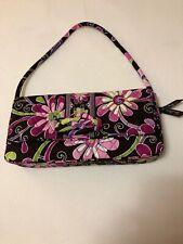 "Vera Bradley ""Purple Punch"" 6""X12"" Handbag Back Zipper Magnet Close NWT New $54"
