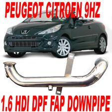 Tubo Rimozione DOWNPIPE FAP DPF Citroen 1.6 90 110 cv HDI C2 C3 C4 Berlingo PS1