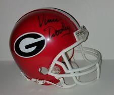Vince Dooley Georgia Bulldogs Autographed Hand Signed Mini Helmet
