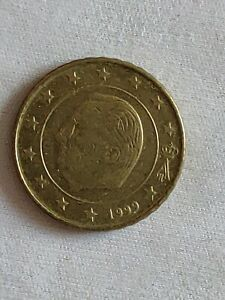 Pièce 10 Euros Cent Belgique 1999