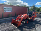 2018 Kubota BX23S 4x4 Hydro 23Hp Compact Tractor Loader Backhoe w/ 800 Hrs