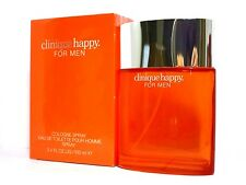 CLINIQUE HAPPY COLOGNE SPRAY FOR MEN 3.4 Oz/ 100 ml BRAND NEW ITEM IN BOX SEALED