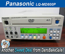 Panasonic LQ-MD800P DVD RAM/R Video Recorder - NTSC/PAL Switchable - Works Great