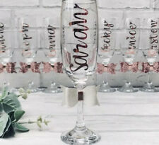 Hen Night Party Gift Personalised Prosecco / Champagne Flute/glass