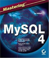 Mastering MySql 4 by Ian Gilfillan in Used - Very Good