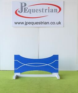 Blue and White Bow Tie Show jump Filler-For Showjumping