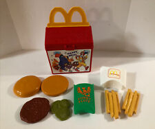 New ListingVintage 1989 Fisher Price Mcdonalds Fun with Food Happy Meal