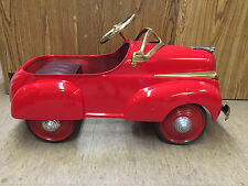 Restored Steelcraft 1941 Chrysler Pedal Car
