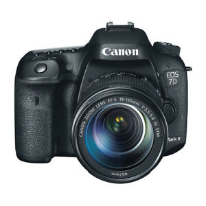 "Canon EOS 7D Mark II 18-135mm 20.2mp 3""  DSLR Camera New Cod Agsbeagle"