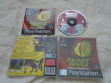Beast Wars: Transformers PS1 (COMPLETE) Sony Playstation rare