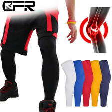 Thigh High Knee Supports Compression Sleeves Sport Socks Leg Stockings Men Women