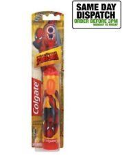 Colgate Spider-Man 3+ años Con Pilas Niños Niños Cepillo De Dientes-Naranja
