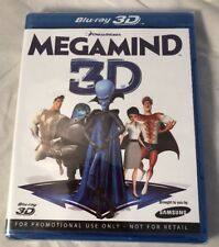 Sealed Megamind 3D Blu-ray Samsung Starter Pack Promo Only