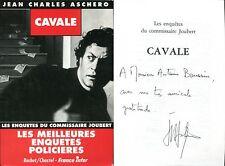 Jean-Charles Aschero - Cavale - EO 1993 - Dédicace