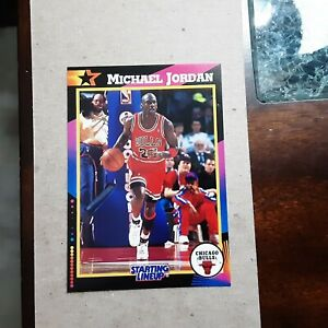1992 STARTING LINEUP CARD MICHAEL JORDAN CHICAGO BULLS