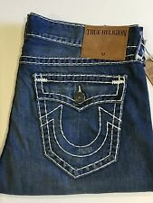 TRUE RELIGION RICKY SUPER T MEN JEAN ROUGH WATER MNR859NUL1 NWT 38W $369
