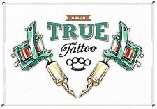 TATTOO STUDIO,RETRO,ENAMEL,VINTAGE STYLE METAL SIGN,746
