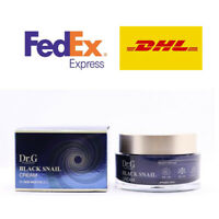 Dr.G Black Snail Cream Black Snail Pearl Powder Moisturizers Elasticity K-Beauty