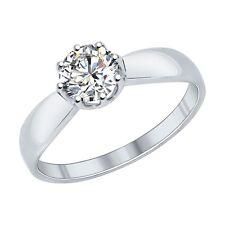 MIRKADA Damen 925 Sterling Silber Ring mit SWAROVSKI Zirkonia Gr. 53 * NEU *