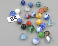 Vintage Marbles Assorted, 2 Dozen, Lot #84