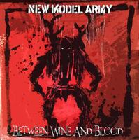 "New Model Army : Between Wine and Blood VINYL 12"" Album 2 discs (2014)"
