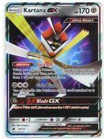 Kartana GX - Half Art Holo - Pokemon Card Crimson Invasion MINT 70/111