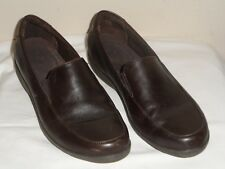 Rockport DMX Womens Brown Leather Loafer Shoe - Size 8M