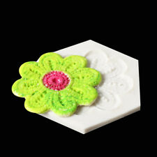 Flower Border Silicone Chocolate Mold Fondant Cake Decor Baking Pastry MoldSEAU