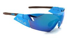 New Bolle 6TH SENSE Sunglasses | 11911 AG2R Shiny Blue / Brown Blue Violet Lens