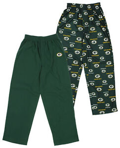 Outerstuff NFL Youth Green Bay Packers Two Piece Fleece Pant Set