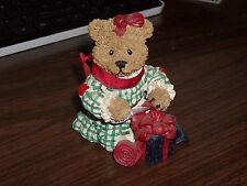 American Greetings 1997 Heart Patch Place bears Hills 1st Edition wrapping gift