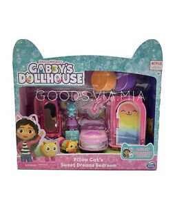 Gabby's Dollhouse Pillow Cats Sweet Dreams Bedroom Furniture Accessories Netflix