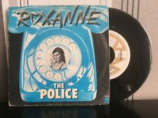 "7"" Vinyl The POLICE - Roxanne - Rare Dutch blue picture sleeve - VG"