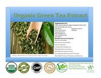 8 OZ, Organic Green Tea Extract Powder. (98% POLY, 55% EGCG) Free Shipping.