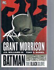 Batman: The Black Glove by Grant Morrison J H Williams & Tony Daniel HC 2008 OOP