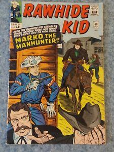 Rawhide Kid 48 VG 4.0 Marvel Silver Age Comic Book Western