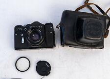 Zenit TTL mit Tasche  und 50mm F/1.7b Objektiv, made in UDSSR