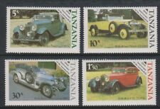 Tanzania - 1986, Rolls Royce, Automobile set - MNH - SG 456/9