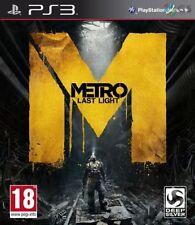 Metro Last Light PS3 NEW