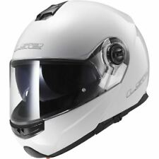 LS2 FF325 Strobe Plain Flip Up Motorcycle Crash Helmet Scooter All Colours New