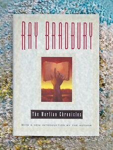 The Martian Chronicles Ray Bradbury SIGNED HC Book 1st Print of 1997 Avon Ed
