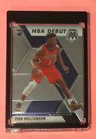 PANINI MOSAIC NBA DEBUT ZION WILLIAMSON ROOKIE CARD 2019-20 RC #269 PELICANS