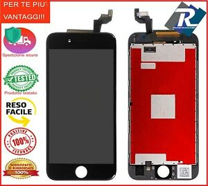 LCD iPhone 6S Touch Display schermo retina Apple 6S A1633 - A1688 - A1700 Nero